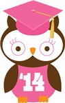 Owl 2014 Class Grad Gifts and Shirts