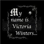 Dark Shadows My Name is Victoria Winters B&W