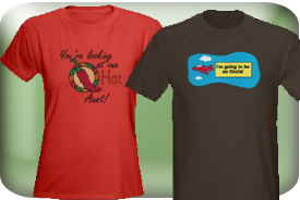 T-Shirts and Gifts for Aunts and Uncles