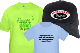 Pappou Gifts and T-Shirts