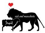 Stupid Lamb Sick Lion