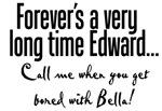 Twilight Edward Bored with Bella