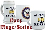 Navy Mugz/Steinz