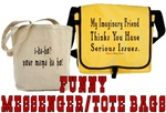 Funny Messenger/Tote Bags