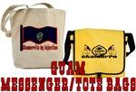 Guam Messenger/Tote Bags