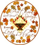 Autumn, God's Second Spring Quilters Products
