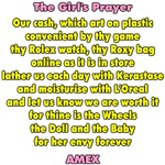 The Girl's Prayer
