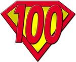 100th Birthday Gifts, 100 Shield!