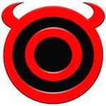 Devil's Target Halloween Apparel.