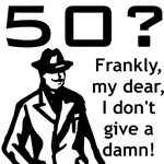 50th Birthday Gifts, Gone With The Wind Parody.
