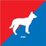 Jindo Red White & Blue