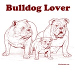 Bulldog Lover Red