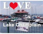 LOVE LAKE CHAMPLAIN! Junior's and Women's apparel