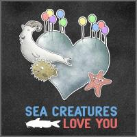 Sea Creatures Love You