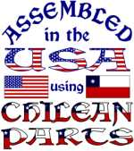 USA/Chilean Parts