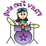 Girls Can't WHAT? Drummer