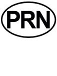 PRN As Needed Medical Oval T-shirts & Gifts