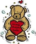 Valentine Bear T-shirts & Gifts