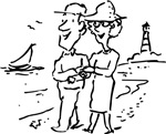 Retirement Beach Lighthouse T-shirts & Gifts