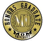 Mom University Honors Graduate T-shirts & Gifts