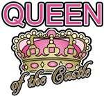 Queen of the Castle Crown Mother T-shirts & Gifts
