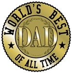 Father's Day World's Best Dad T-shirts & Gifts