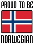 Proud to be Norwegian Flag T-shirts & Gifts