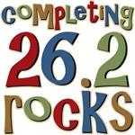 Completing 26.2 Rocks Marathon Run T-shirts Gifts