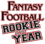 Fantasy Football Rookie of the Year t-shirts gifts