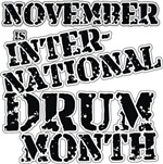 International Drum Month 3 t-shirts gifts
