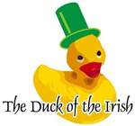 Duck of the Irish t-shirts gifts
