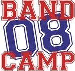 Band Camp 08 t-shirts gifts