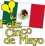 Cinco de Mayo Flag t-shirts gifts