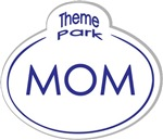 Theme Park Name Tag Orlando T-shirts Gifts