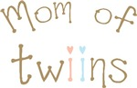 Mom of Twins Boy Girl T-shirts Gifts