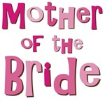 Mother of the Bride Wedding Party T-shirts Gifts