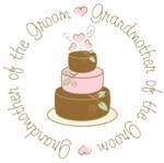GrandMother of the Groom Cake T-shirts Gifts
