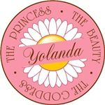 Yolanda Princess Beauty Goddess T-shirt Gifts