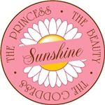 Sunshine Princess Beauty Goddess T-shirts Gifts