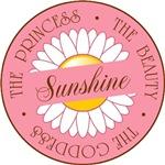 Sunshine Princess Beauty Goddess T-shirts Gifts