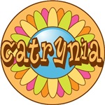 Catrynia Name Bright Flower T-shirts Gifts