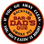 Dad's Backyard Bar-b-que T-shirts Gifts