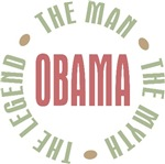 Obama the Man the Myth the Legend T-shirts Gifts