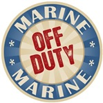 Off Duty Marine Soldier T-shirts Gifts