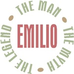Emilio the Man the Myth the Legend T-shirts Gifts