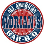 Adrian's All American BBQ T-shirts Gifts