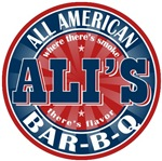 Ali's All American Bar-b-q T-shirts Gifts