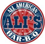 Ali's All American Bar-b-q T-shirts Gifts