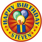 Happy Birthday Steven Personalized T-shirts Gifts