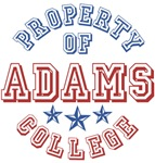 Adams College Property Of Custom T-shirts Gifts
